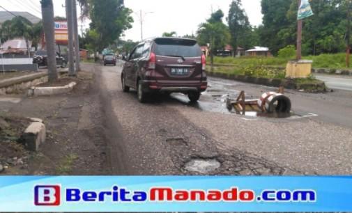 "BPJN Sulut ""Sakti"", Siapkan ""Ranjau"" di Jalan Trans Sulawesi Minsel"