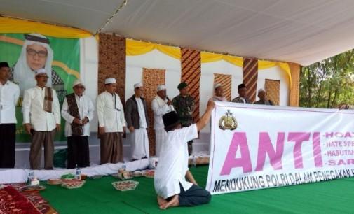 Hadirkan Guru Besar Asal Aceh, MPTT Minut Gelar Dzikir Akbar