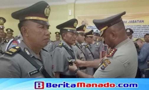 7 Pejabat Utama Polres Minut Disertijab