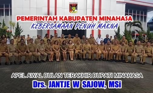 JANTJE SAJOW Isyaratkan Salam Perpisahan di Apel Perdana Bulan Maret 2018