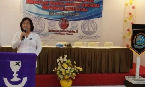 Rita Mantiri Tangkudung Kini Nahkodai PWKI Sulut