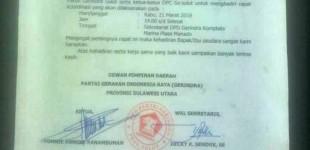 Soal Pergantian Ketua DPD Gerindra Sulut, Ini Kata Sekretaris Melky Suawah
