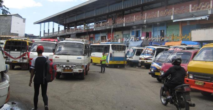 Terminal Karombasan (Foto Pekan Lalu)