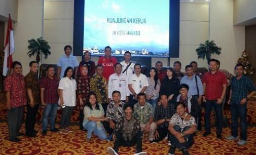 Steven Runtuwene Terima Kunjungan Jurnalis Kabupaten Bantul