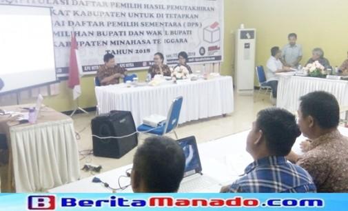 KPU Tetapkan DPS Pilkada Mitra 81.322 Pemilih