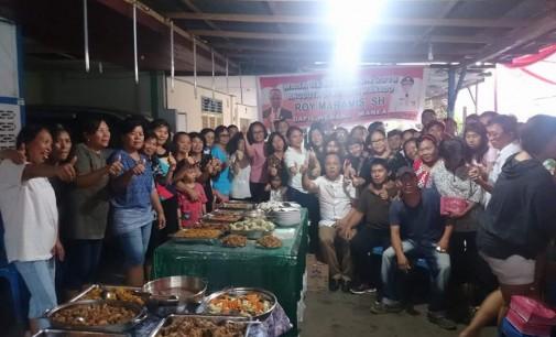 ROY MARAMIS Serap Aspirasi Masyarakat Tanjung Batu