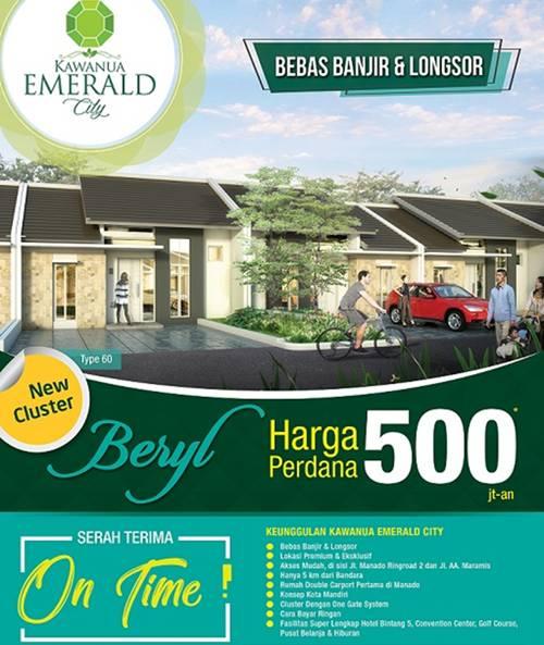 Cluster Beryl Persembahan Kawanua Emerald City