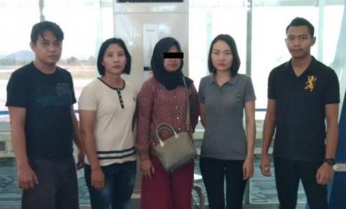 Hebat !! Unit Reskrim Polsek Amurang Amankan Tersangka Penggelapan PT. NSS di Makasar