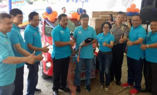 BRI Cabang Bitung Panen Hadiah Simpedes Periode II Tahun 2017