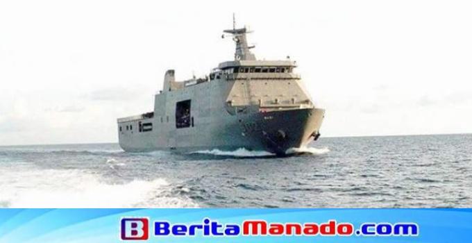 Puluhan WNA Filipina dipulangkan menggunakan Kapal Tentara Laut Filipina Davao Del Sur LD-602.