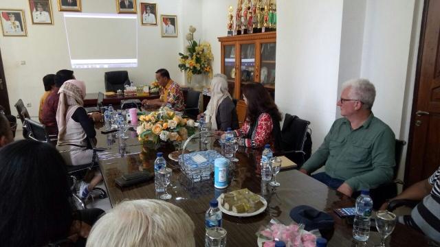 Tim IDB dan IFAD Saat Berkunjung ke Minsel