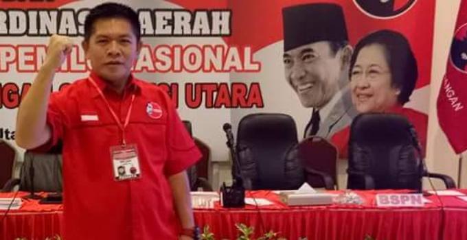 Ketua PDIP Minut Denny Lolong.