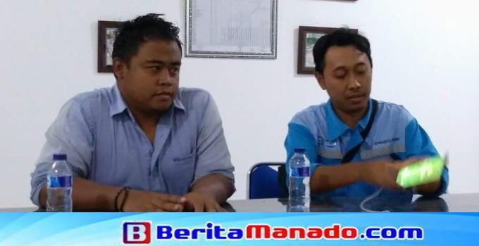 Manager Proyek Bayu Hermawan (kiri) dalam keterangan pers, Selasa (17/4/2018) malam.
