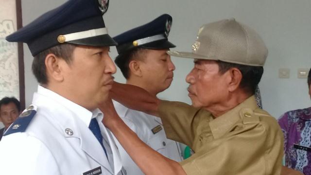 Pelantikan Hukum Tua Desa Ongkaw Dua dan Desa Ongkaw Tiga