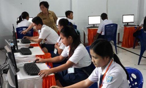 11 SMP/MTs di Minut Ujian Berbasis Komputer, 62 Berbasis Kertas Pensil