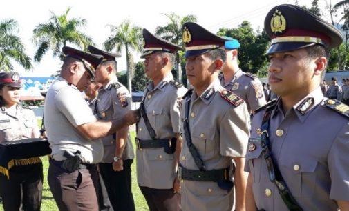 Kembali, Tiga Pejabat Utama Polres Minut Dimutasi