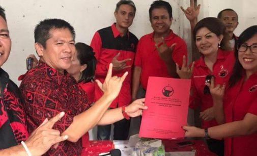 Mantap Maju ke DPRD Sulut, JEIVY WIJAYA Pilih PDIP