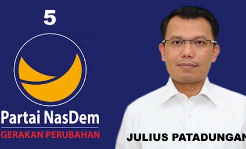 Pengusaha Asal Toraja Ini Terpilih Ketua Partai NasDem Minahasa