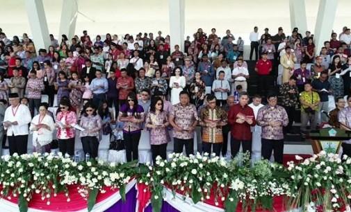 Dipimpin Gubernur OLLY DONDOKAMBEY, Sulut Sukses Menggelar Paskah Asia