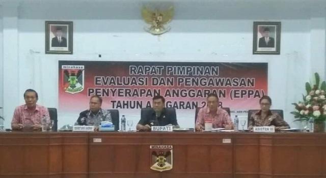 Rapat Pimpinan EPPA Pemkab Minahasa