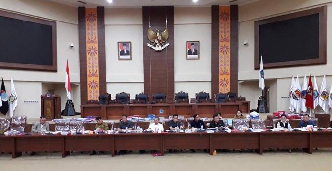 Pansus DPRD Sulut pembahas LKPJ Gubernur 2017