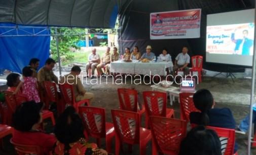 BPJS dan Bansos Dikeluhkan Warga Girian di Reses Habriyanto Achmad