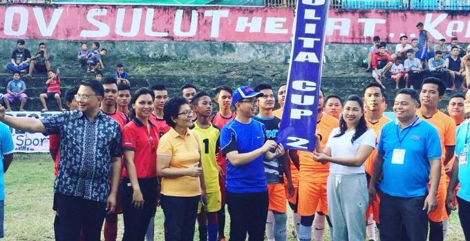 Pembukaan turnamen futsal Yulita Cup II 2018