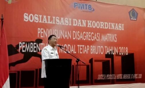 Sosialisasi Penyusunan Disagregasi Matriks PMTB Dilaksanakan, Pemerintah Minta Semua Pihak Siap Beri Data