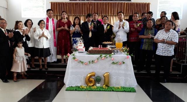 Perayaan syukur 61 tahun bersidang KGPM Bahtera Ranotana