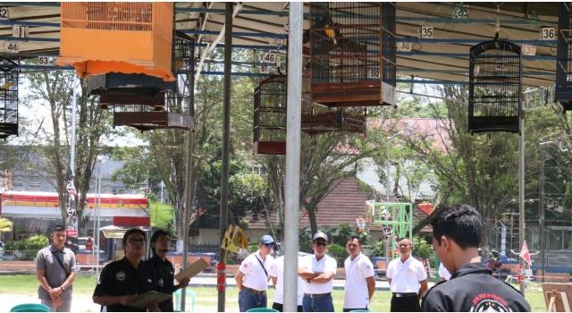 Kontes burung berkicau Danlantamal Cup 2018