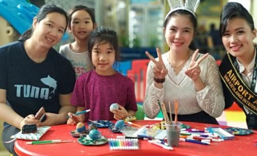 Rayakan Paskah, Ada Coklat Dan Painting Face Gratis di Bandara