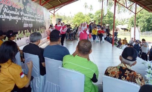KPU Mitra Gelar Pagelaran Seni Budaya Sukseskan Pemilu Serentak 2019