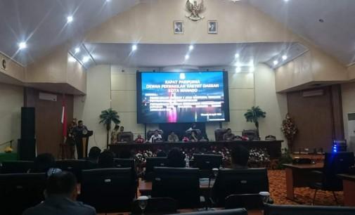 DPRD Manado Gelar Rapat Paripurna LKPJ Tahun Anggaran 2017