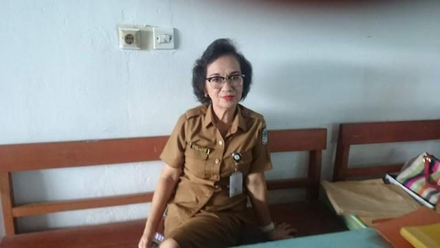 Kepala Sekolah SMP N 8 Manado, Adeleida Kemur.
