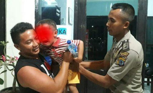 Polsek KPS Selamatkan Anak Tiga Tahun di Pelabuhan Bitung