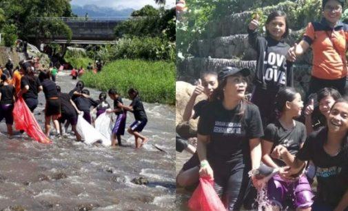 Ketika Berbagai Komunitas Bergandengan Tangan Bersihkan Kuala Girian