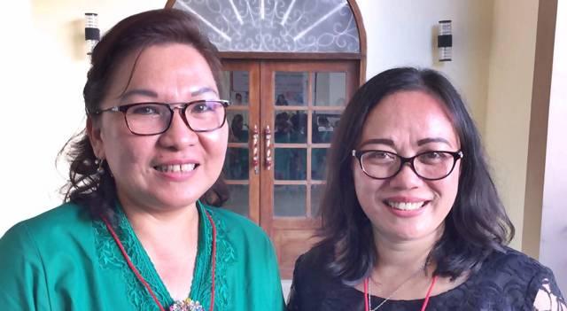 Gbl Patricia Chriestine Batasina-Rattu dan Gbl Fetricia Aling