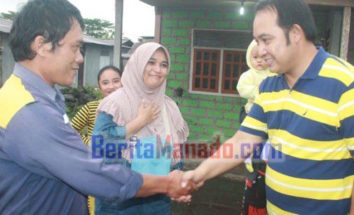 IVAN-CAREIG Disambut Umat Muslim Langowan