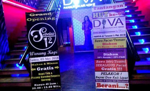 Hanya Hari Ini!!! Tantangan HUT ke-6 Diva Family Karaoke Anti Mainstream, Ada Untuk Selingkuhan Dan Pelakor