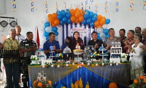 Bupati VONNIE PANAMBUNAN Ikut Rayakan HUT ke-138 Kelurahan Sukur