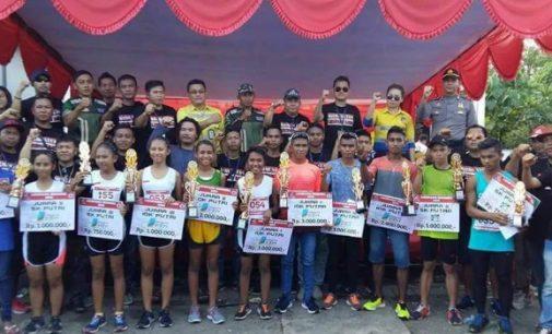 Likupang Runners Half Marathon Sukses. Berikut Daftar Pemenangnya!