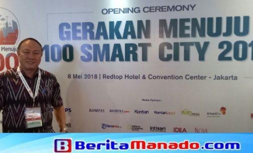 Sekda JEMMY KUHU Hadiri Opening Ceremony Gerakan Menuju 100 Smart City