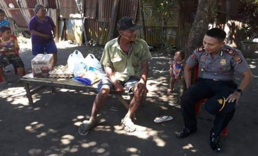 Peduli Warga !! Kapolsek Edy Suryanto Lakukan Hal Ini