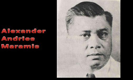 Gubernur OLLY DONDOKAMBEY Rekomendasikan AA MARAMIS Sebagai Pahlawan Nasional