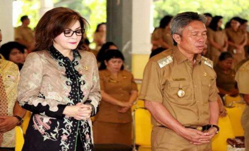 Begini Sikap Bupati CHRISTIANY PARUNTU dan Wabup FRANKY WONGKAR Atas Aksi Teror di Surabaya