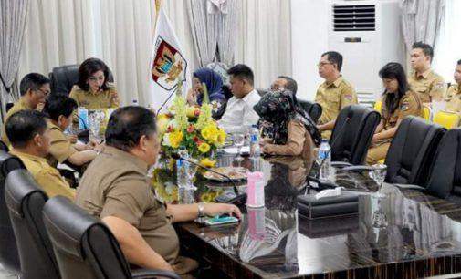 Bupati TETTY PARUNTU Pimpin 'Exit Meeting' Tim BPK RI