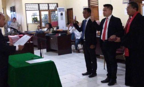 Kepala BPN SAMMY DONDOKAMBEY Lantik Camat Wori dan Kema Jadi PPATS