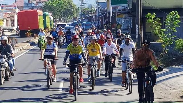 Kegiatan Bersepeda