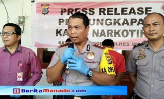 Edarkan Sabu, 2 Sopir Trans Sulawesi Diciduk Polres Minsel