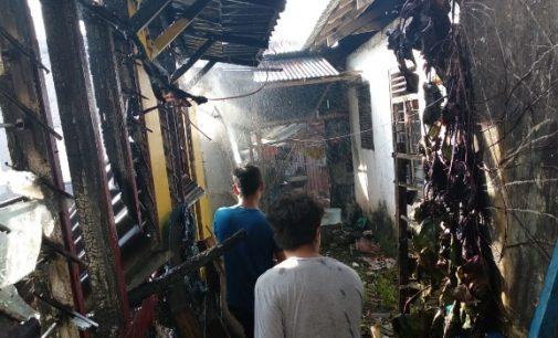 Gara-gara Listrik, Rumah di Kumersot Dilalap Api